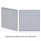 PH50 Outdoor Decorative Aluminum Led Curtain Grid Screen(4096 gray scale serial) 600×600mm