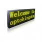 PH10 Semi-outdoor S-yellow Sign 1010×370mm