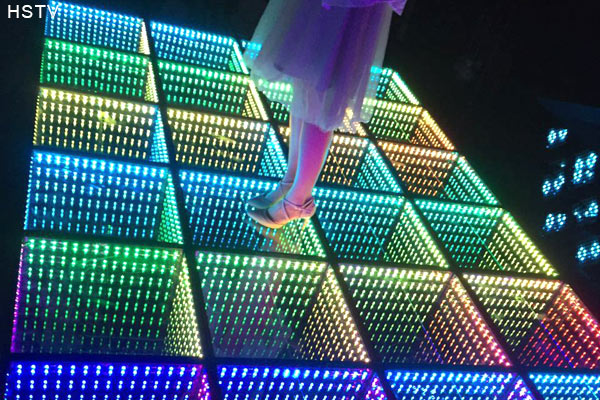 Led Infinite 3d Dance Floor Optokingdom