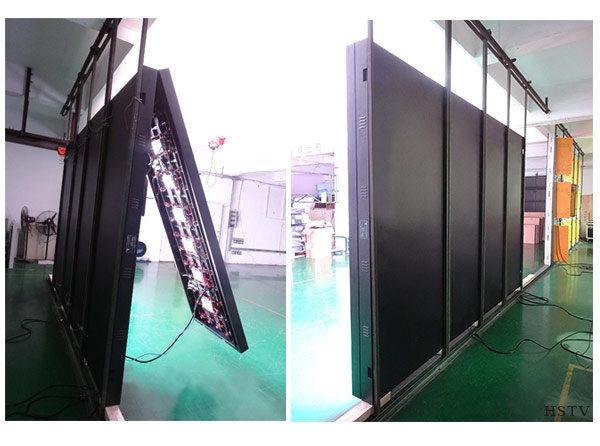 Front Service LED Screen