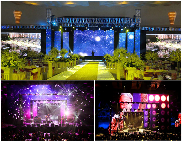 PH3.91 Indoor Rental LED Screen application