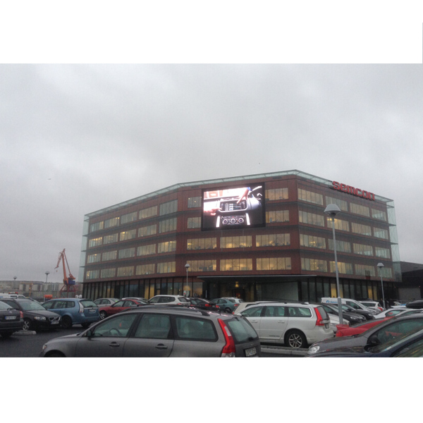 P6 25 Outdoor LED Video Wall 500×1000mm