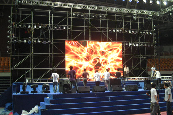 PH3.91 Outdoor Rental LED Display