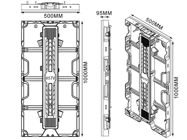 PH3.91 Standard Cabinet Dimensions