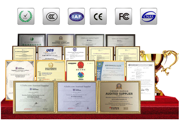 OptoKingdom Product Quality Certifications
