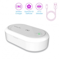 UV Sterilizer Box with Wireless Charger