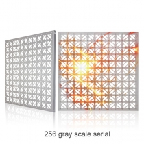 PH40 Outdoor Decorative Aluminum Led Curtain Screen(256 gray scale serial) 600×600mm