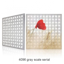 PH40 Outdoor Decorative Aluminum Led Curtain Screen(4096 gray scale serial) 600×600mm