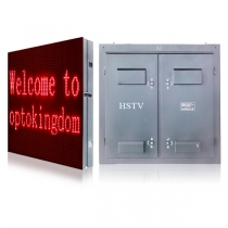 PH10 Outdoor DIP Red LED Screen 960×960mm