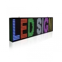 PH10 Outdoor DIP Full Color LED Sign 1920×320mm