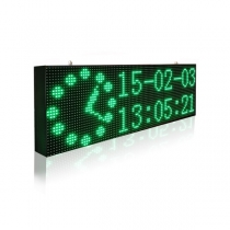 PH10 Outdoor DIP Green LED Sign 1920×320mm