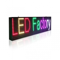 PH10 Outdoor SMD Full Color LED Sign 1920×320mm