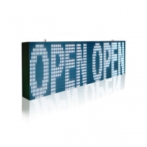 PH10 Outdoor DIP White LED Sign 1920×320mm