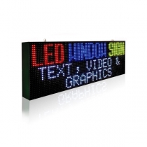 PH13.33 Outdoor DIP Full Color LED Sign 1920×480mm