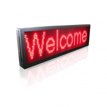 PH10 Semi-outdoor S-red LED Sign1330×370mm