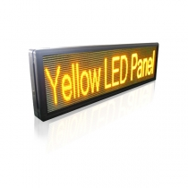 PH10 Semi-outdoor S-yellow LED Sign1330×370mm